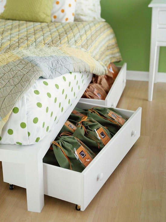 Easy Storage Solutions for Bedrooms